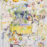Malerei Provence 3, 90x80cm, Acryl Lwd 1998