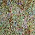 Malerei Spurenfeld 13, 120x100cm, Öl Lwd,2004