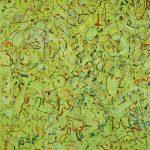 Malerei Spurenfeld garden, 90x80cm, Öl Lwd, 1998
