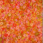 Malerei Spurenfeld VII, 120 x 100 cm, Öl, Lwd, 2004